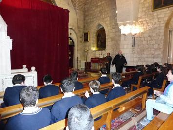 Զմմառու վանք այցելեցին Հռիփսիմեանց վարժարանի ութերորդ դասարանի աշակերտները