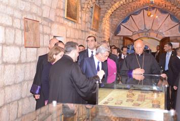 Première visite en Arménie du Vicaire Patriarcal