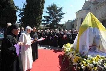 Visite inoubliable de Sa Sainteté Benoit XVI